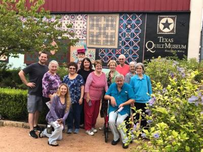Texas Quilt Museum, social, outing, active older adults